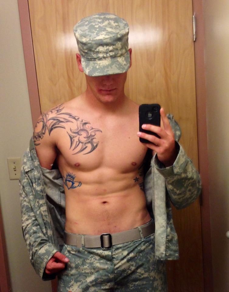 Military dick cock