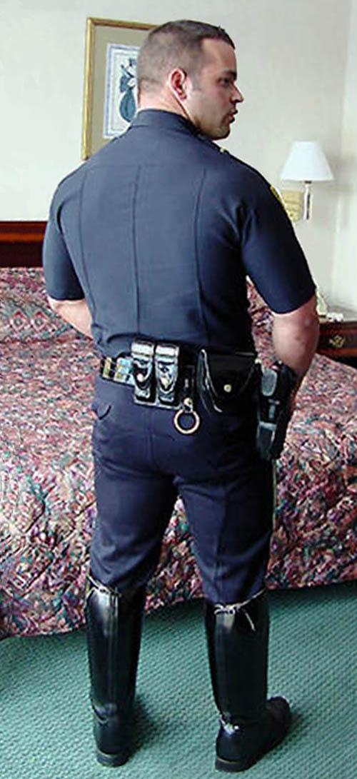 Police gay bondage