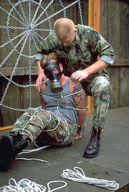 Gay Military Bondage 81