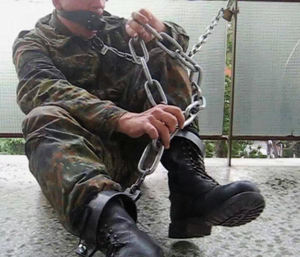Gay Military Bondage 36