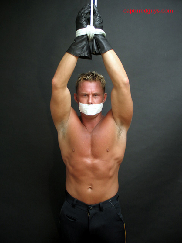gay submissive tied up gagged